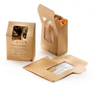 Creation d'emballages alimentaires personnalisés